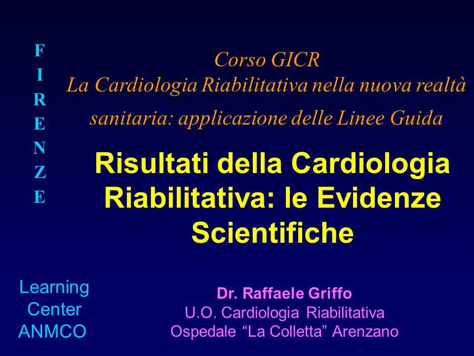 Risultati della Cardiologia Riabilitativa: le Evidenze Scientifiche