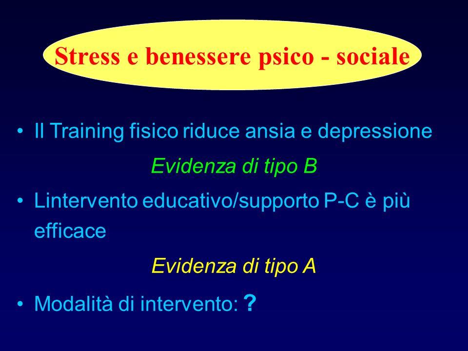 Stress e benessere psico - sociale