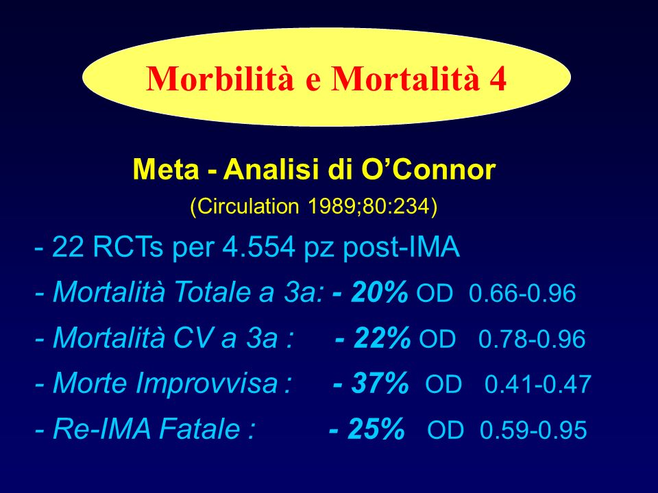 Meta - Analisi di O'Connor