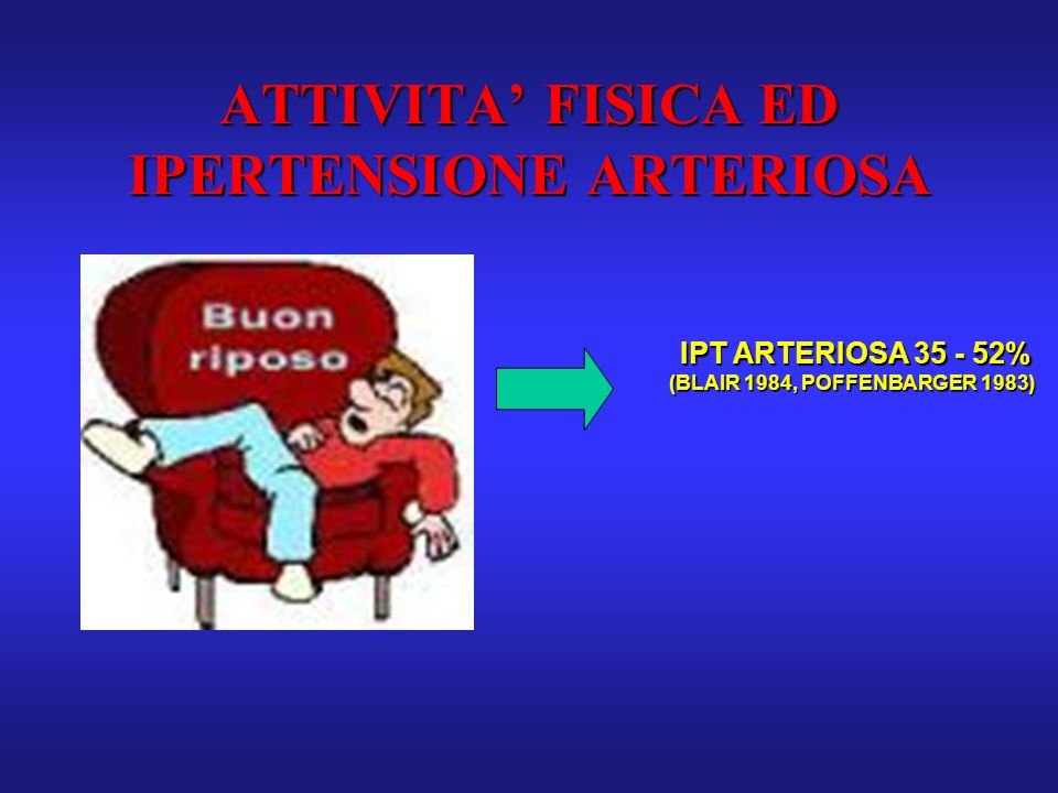 ATTIVITA' FISICA ED IPERTENSIONE ARTERIOSA