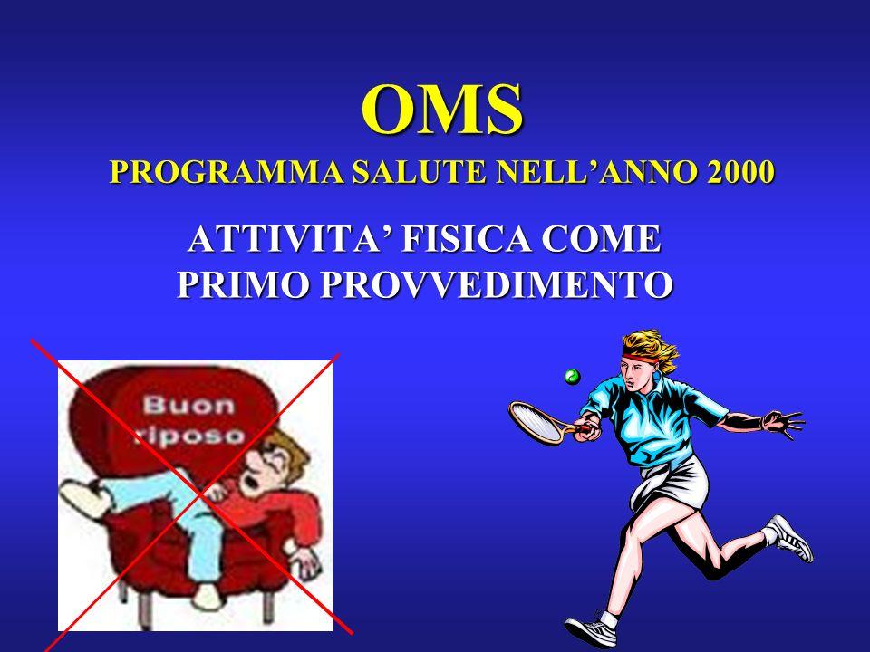 OMS PROGRAMMA SALUTE NELL'ANNO 2000