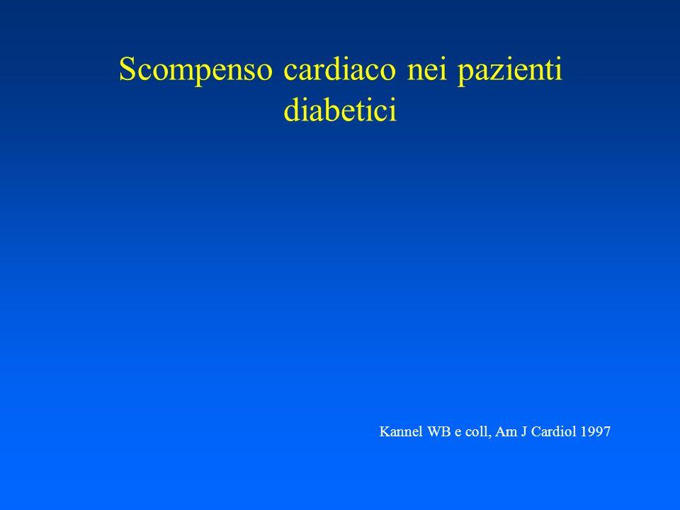Scompenso cardiaco nei pazienti diabetici