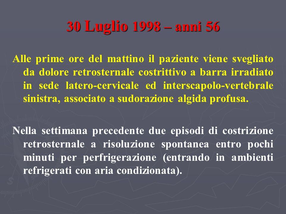 30 Luglio 1998 – anni 56