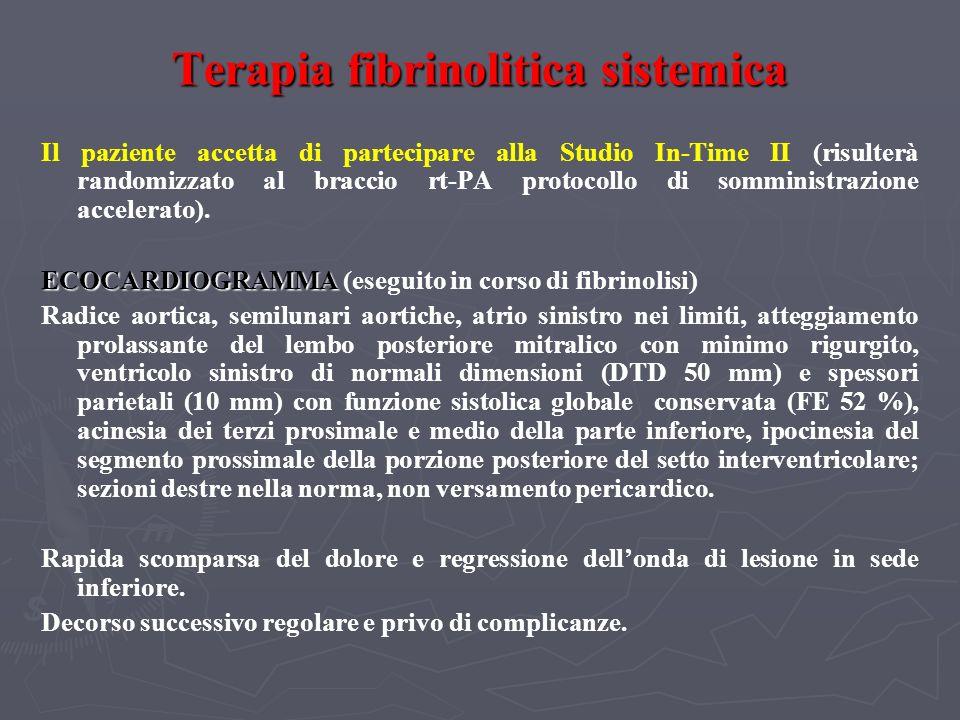 Terapia fibrinolitica sistemica