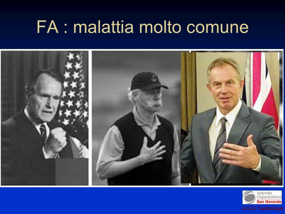 FA : malattia molto comune