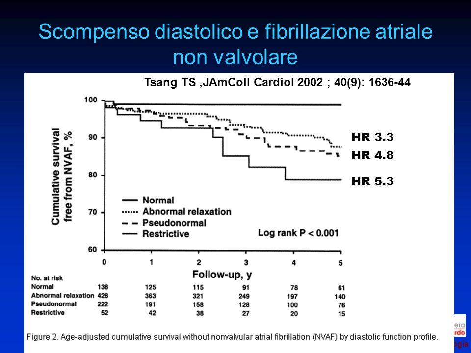 Scompenso diastolico e fibrillazione atriale non valvolare