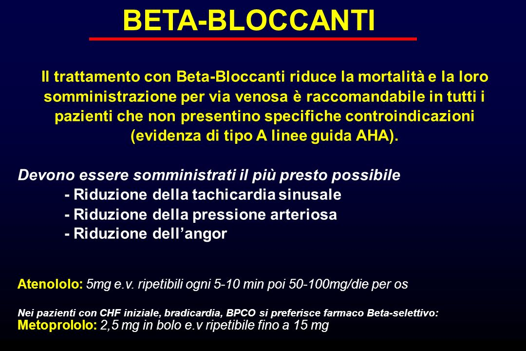 BETA-BLOCCANTI
