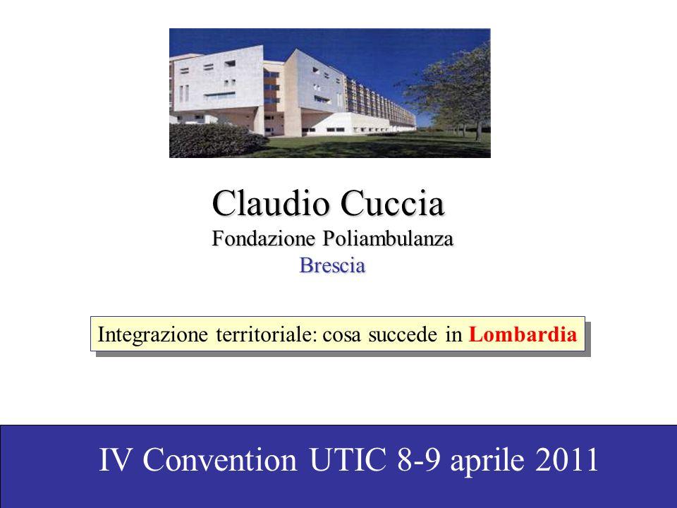 Claudio Cuccia IV Convention UTIC 8-9 aprile 2011