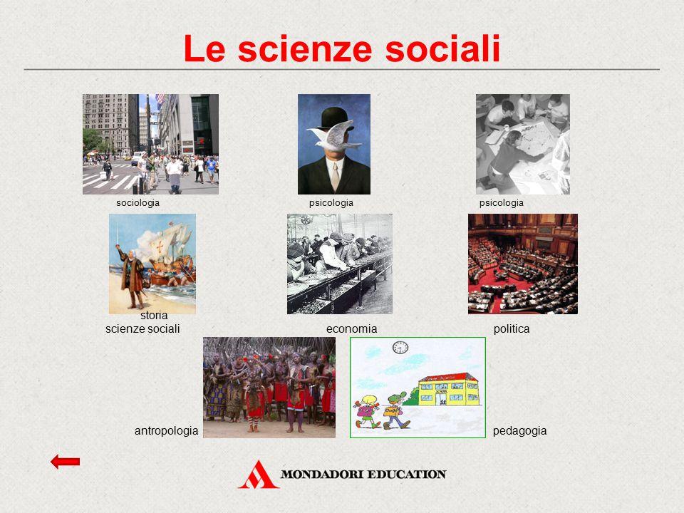 Le scienze sociali pedagogia storia scienze sociali economia politica