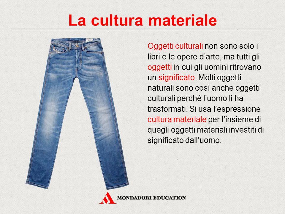 La cultura materiale