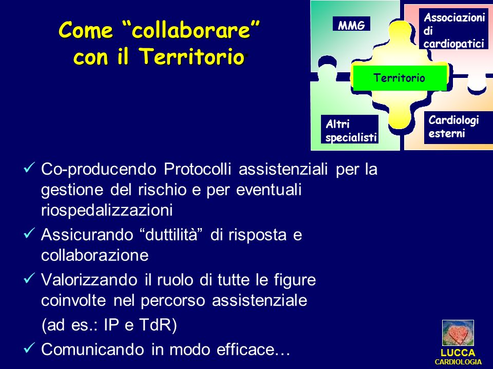 . Come collaborare con il Territorio