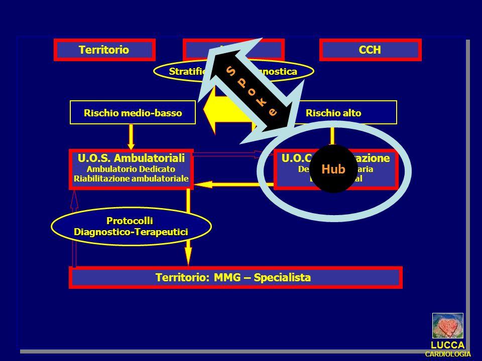 S p o k e Hub Territorio UTIC CCH U.O.S. Ambulatoriali
