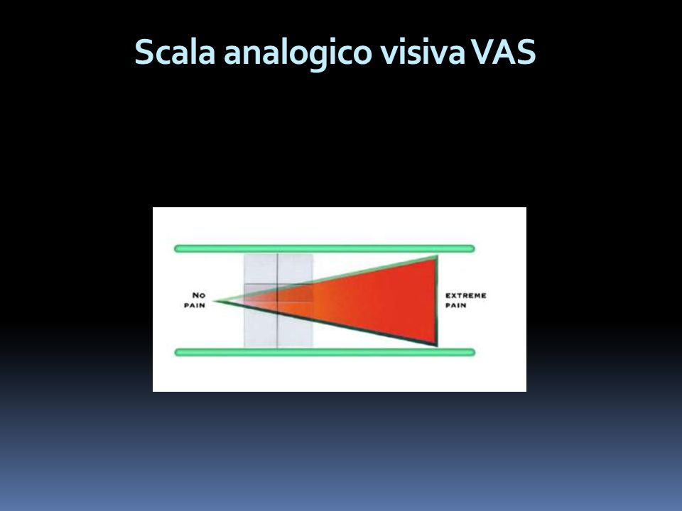 Scala analogico visiva VAS