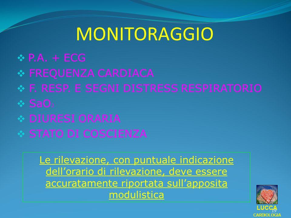 MONITORAGGIO P.A. + ECG FREQUENZA CARDIACA