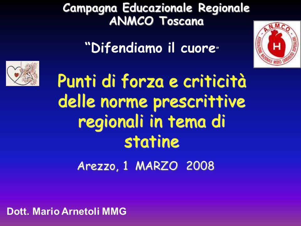 Campagna Educazionale Regionale ANMCO Toscana