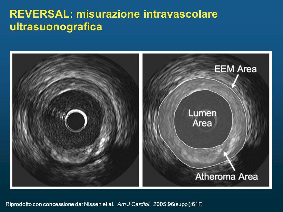 REVERSAL: misurazione intravascolare ultrasuonografica
