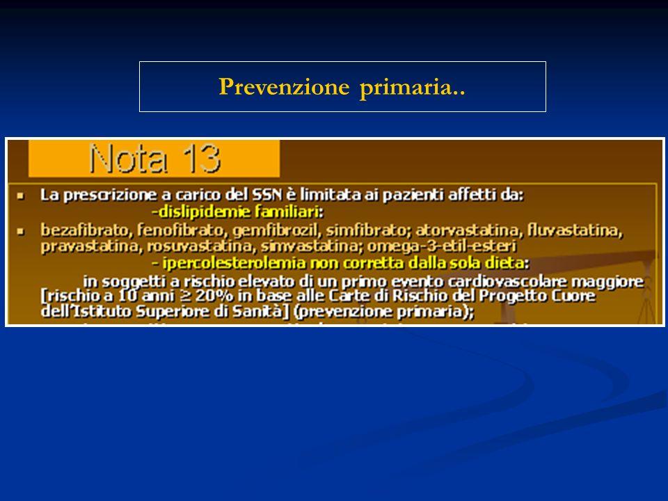 Prevenzione primaria..