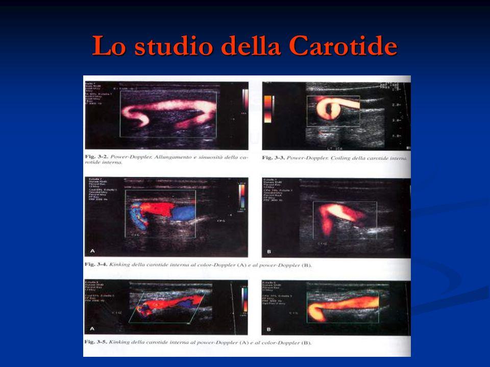 Lo studio della Carotide