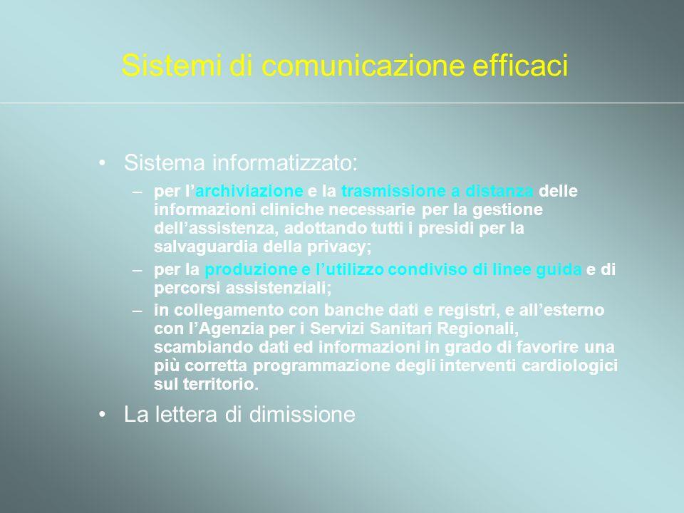 Sistemi di comunicazione efficaci