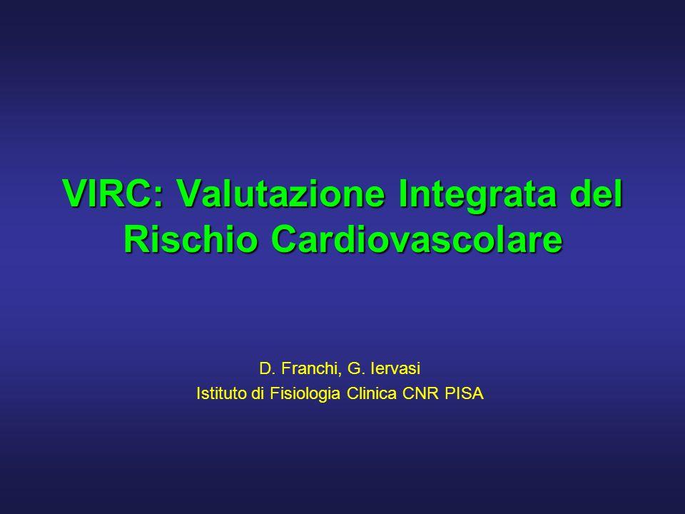 VIRC: Valutazione Integrata del Rischio Cardiovascolare