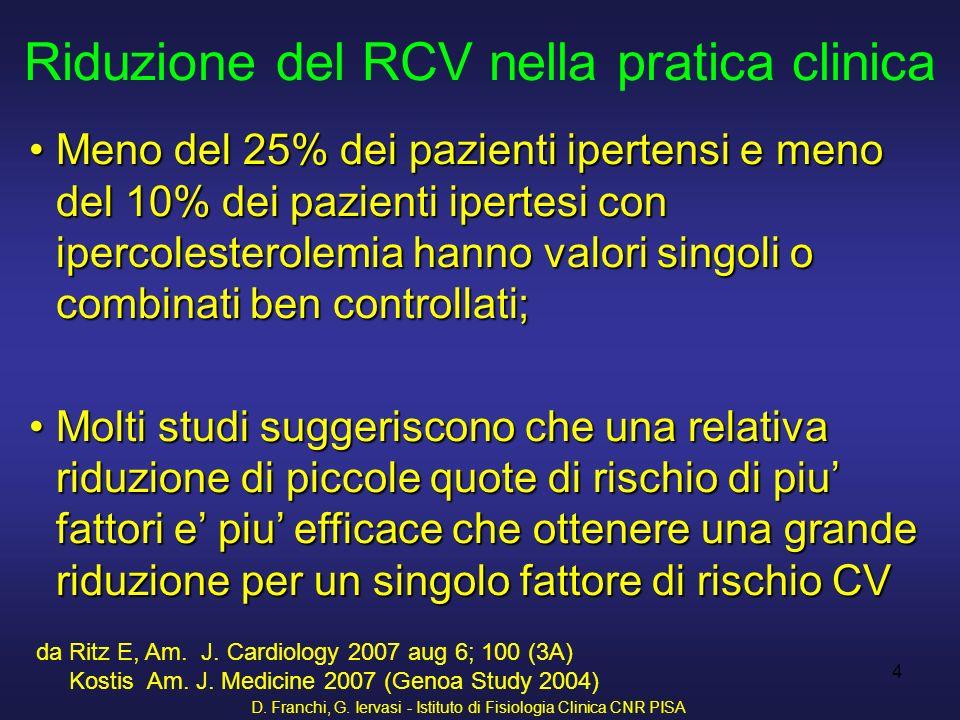 Riduzione del RCV nella pratica clinica