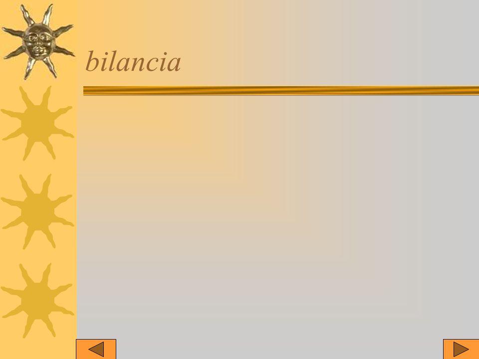 bilancia