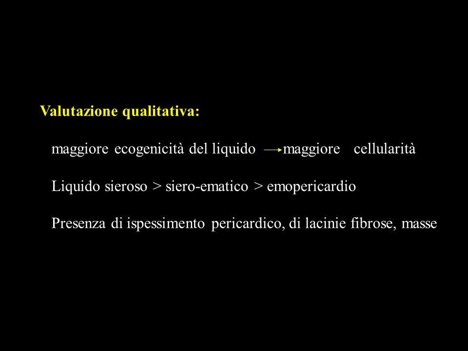 Valutazione qualitativa: