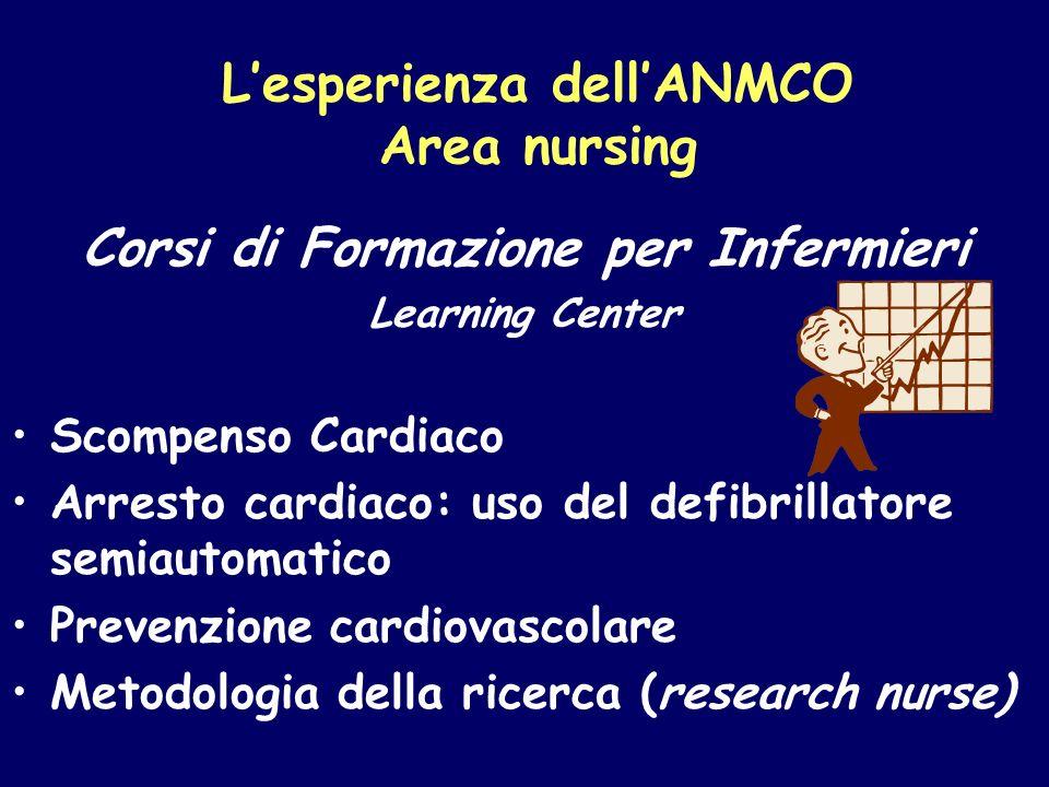 L'esperienza dell'ANMCO Area nursing