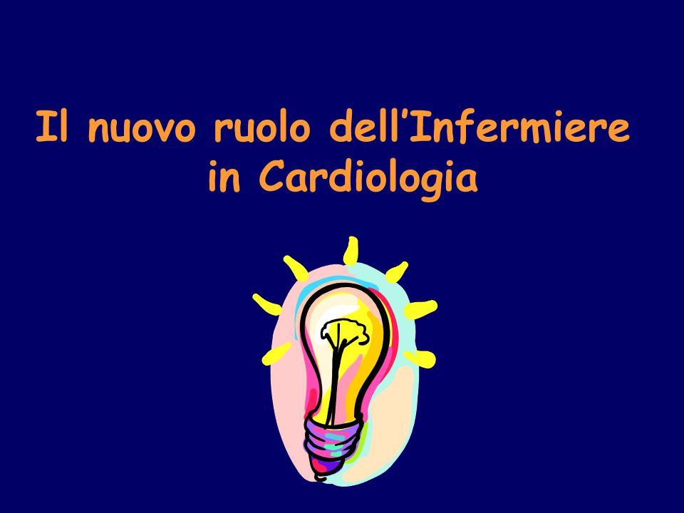Il nuovo ruolo dell'Infermiere in Cardiologia
