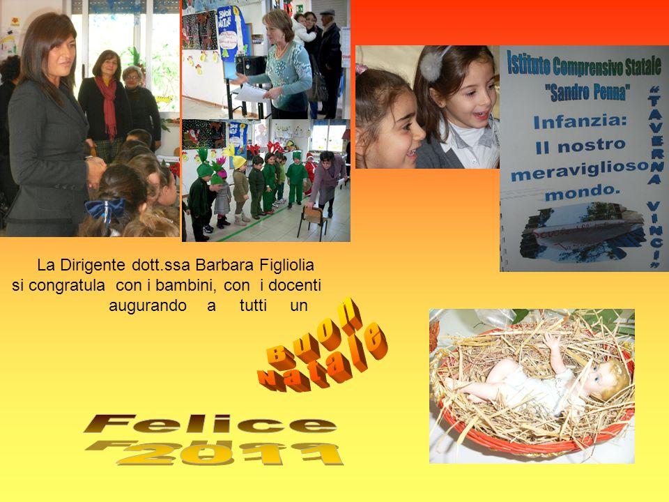 La Dirigente dott.ssa Barbara Figliolia