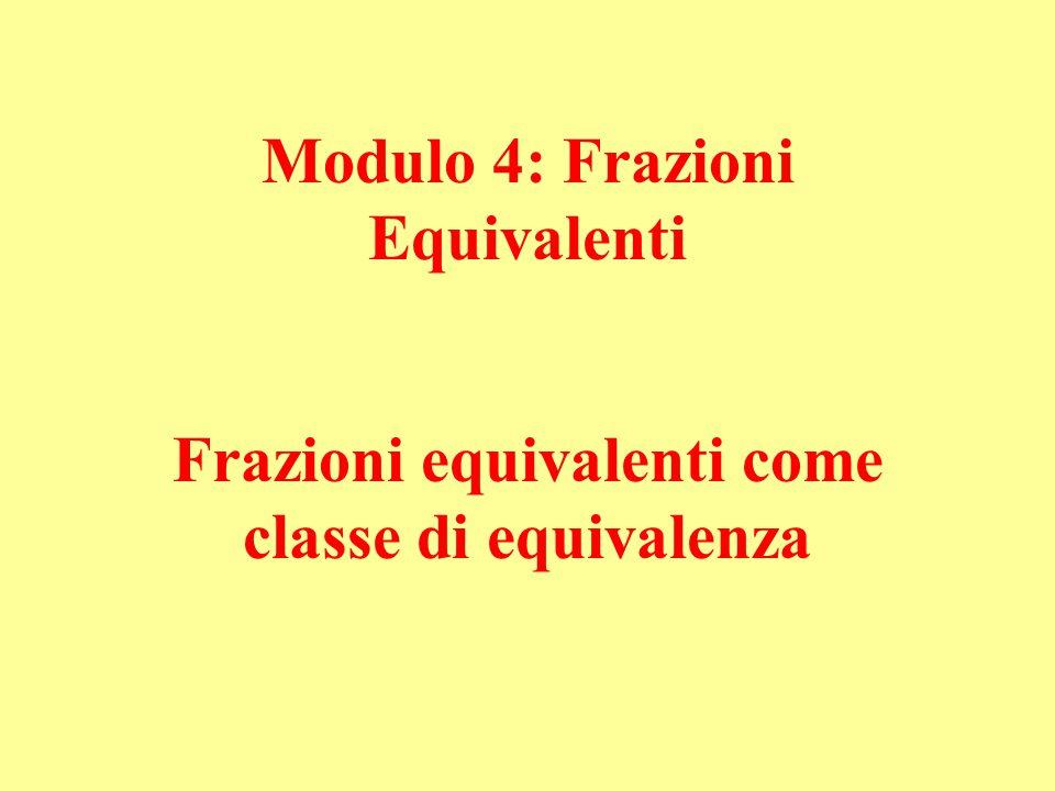 Modulo 4: Frazioni Equivalenti