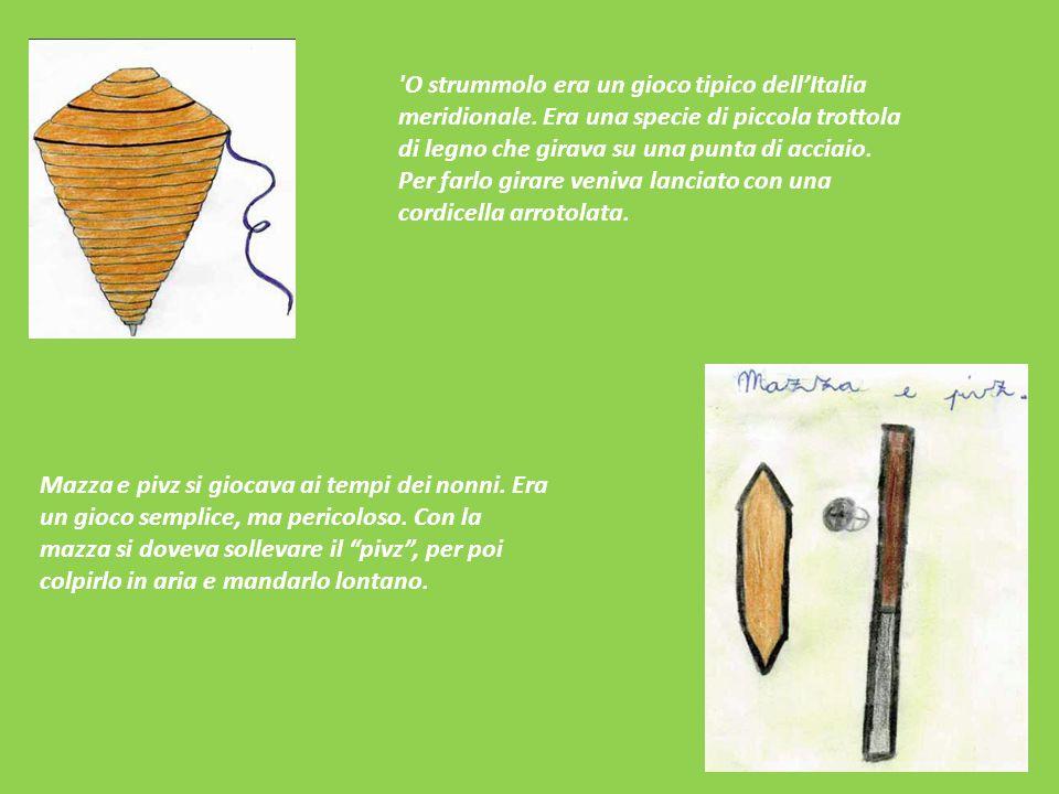O strummolo era un gioco tipico dell'Italia meridionale