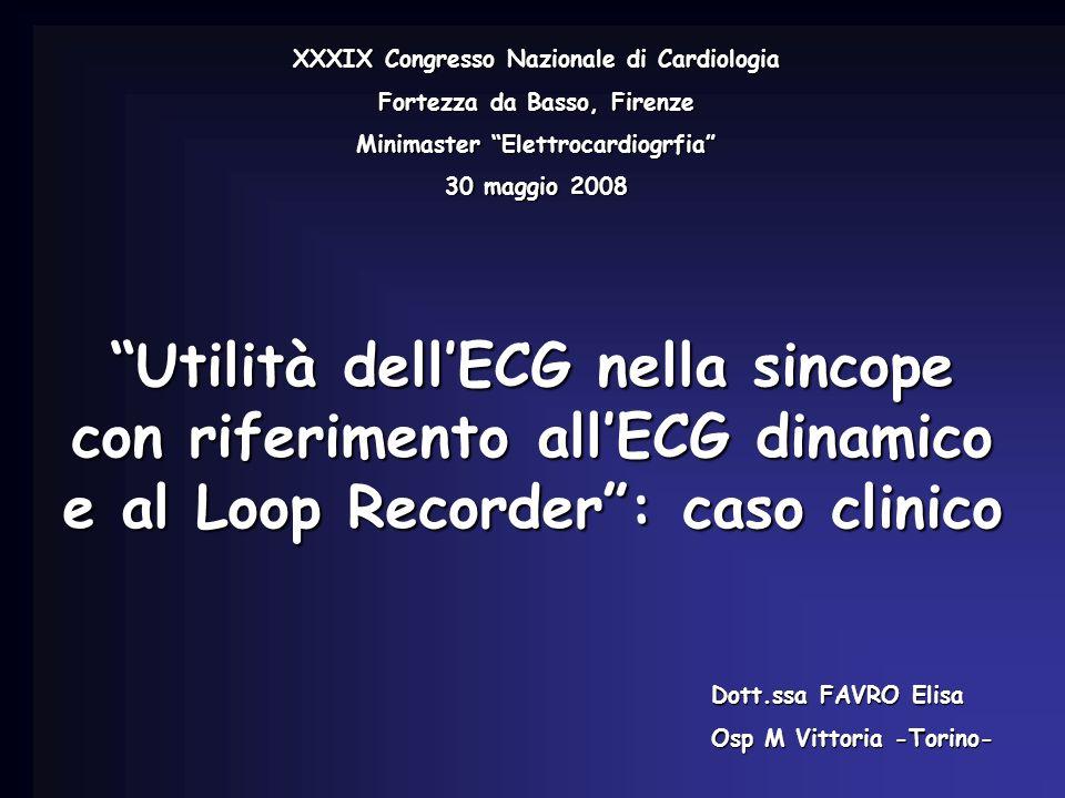 XXXIX Congresso Nazionale di Cardiologia