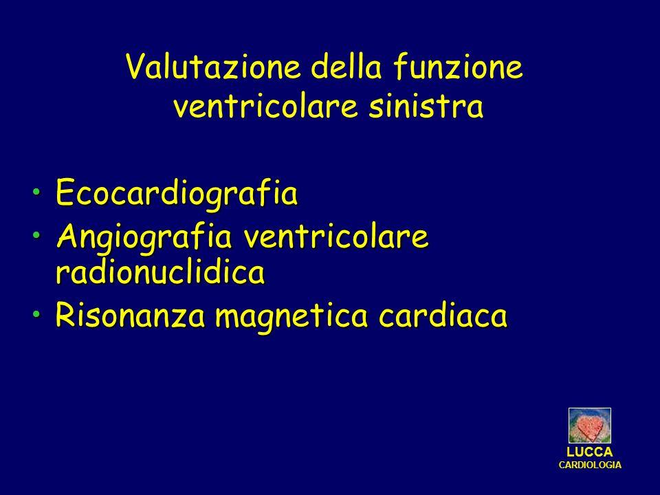 Valutazione della funzione ventricolare sinistra
