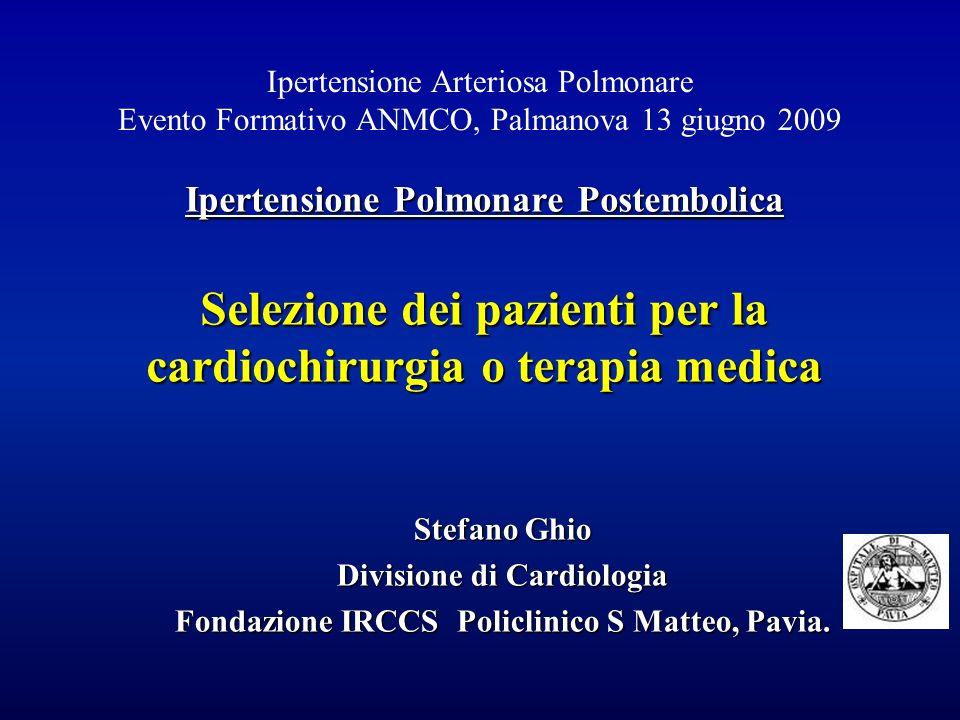 Divisione di Cardiologia Fondazione IRCCS Policlinico S Matteo, Pavia.