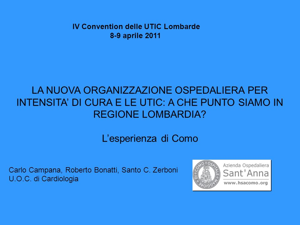 IV Convention delle UTIC Lombarde