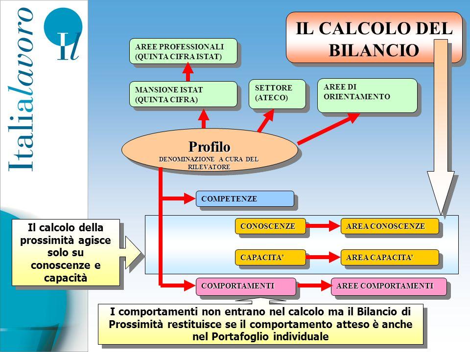 IL CALCOLO DEL BILANCIO