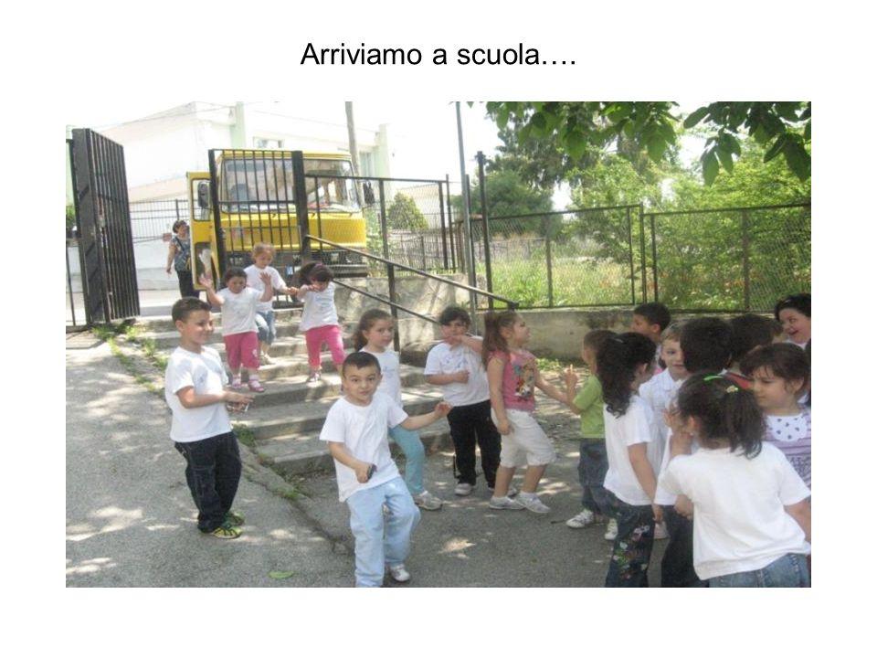 Arriviamo a scuola….