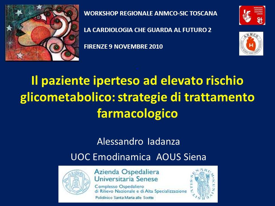 Alessandro Iadanza UOC Emodinamica AOUS Siena