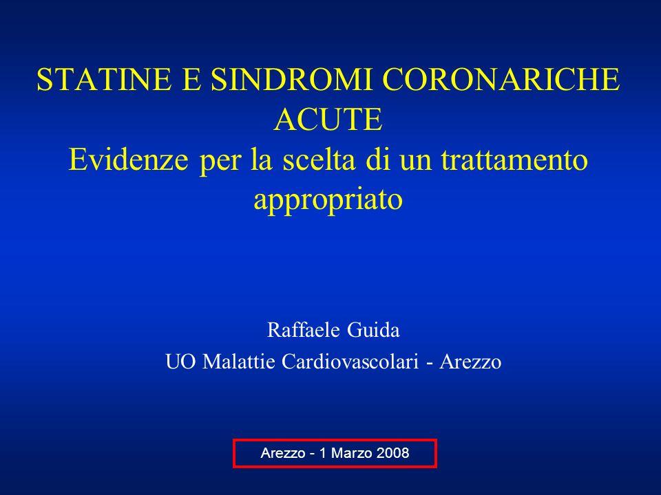 Raffaele Guida UO Malattie Cardiovascolari - Arezzo