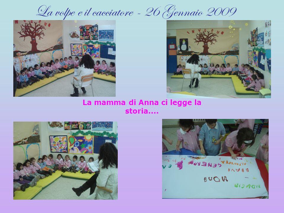 La mamma di Anna ci legge la storia....