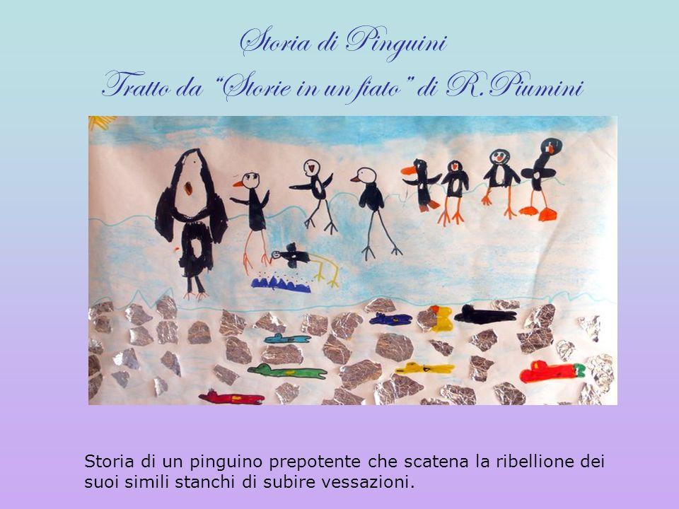 Storia di Pinguini Tratto da Storie in un fiato di R.Piumini