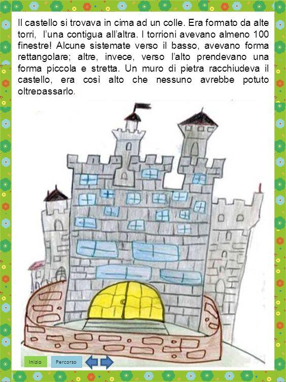 Il castello si trovava in cima ad un colle