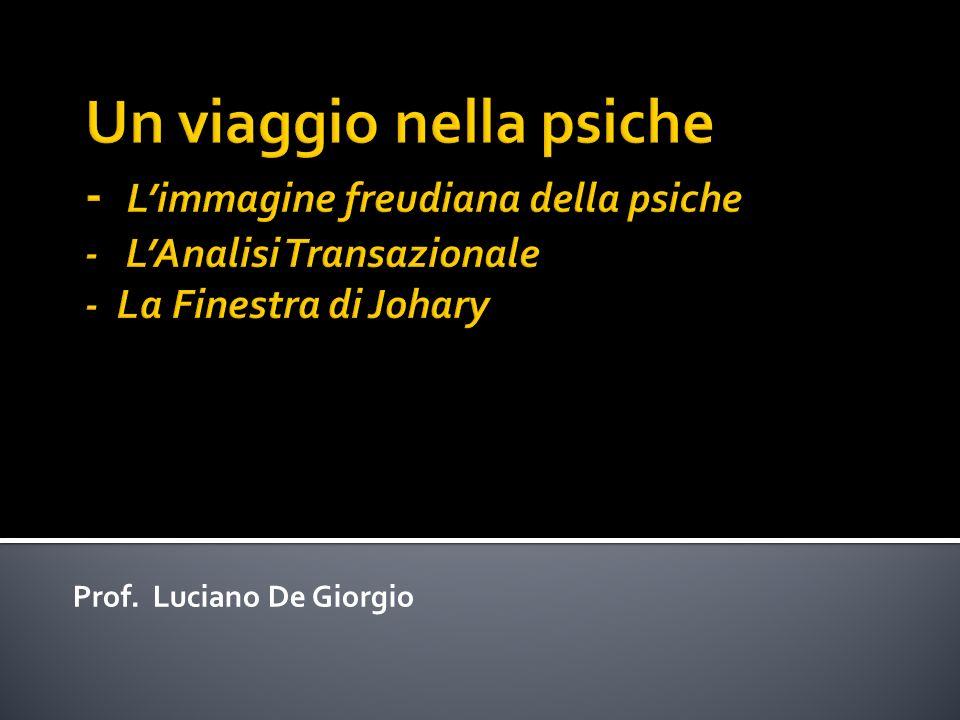 Prof. Luciano De Giorgio