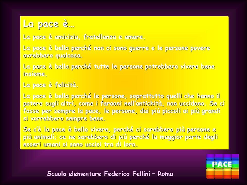 Scuola elementare Federico Fellini – Roma