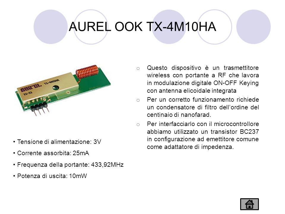 AUREL OOK TX-4M10HA