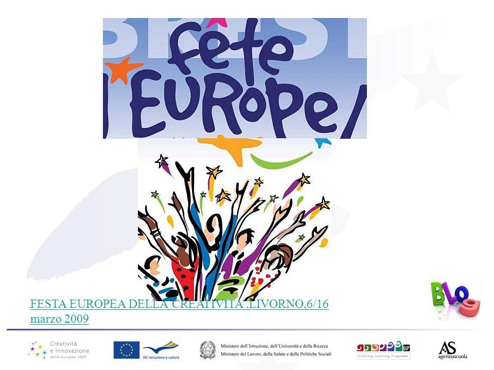 FESTA EUROPEA DELLA CREATIVITA',LIVORNO,6/16 marzo 2009