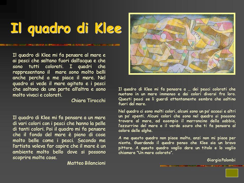 Il quadro di Klee