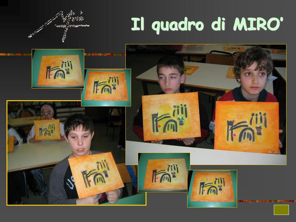 Il quadro di MIRO'
