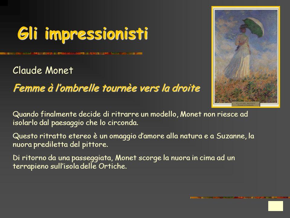 Gli impressionisti Claude Monet